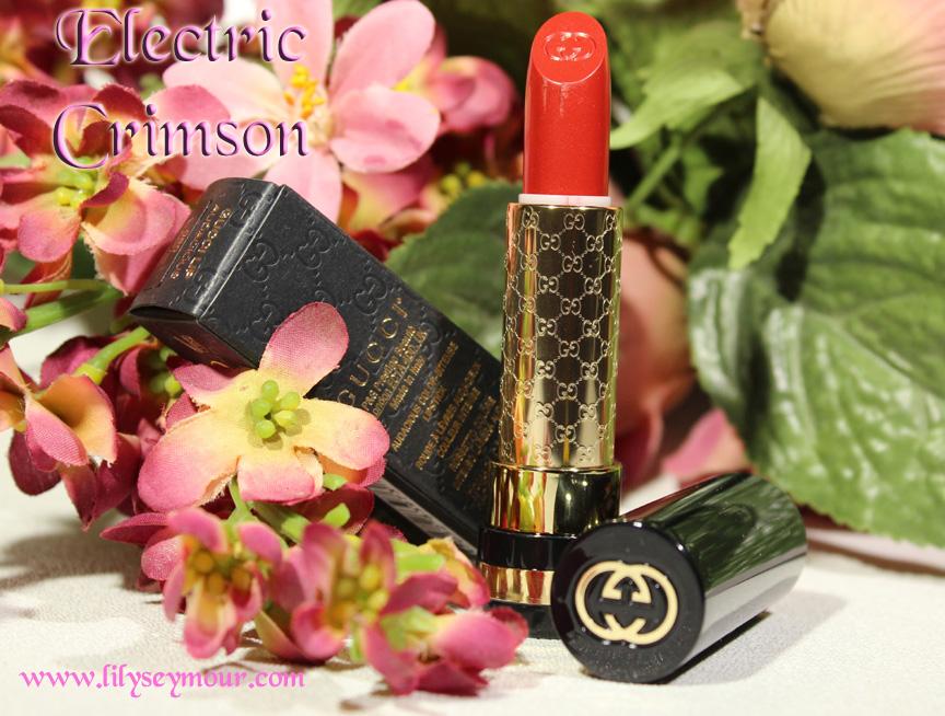 Gucci Electric Crimson Lipstick