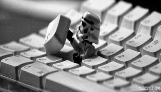 Stormtrooper keyboard