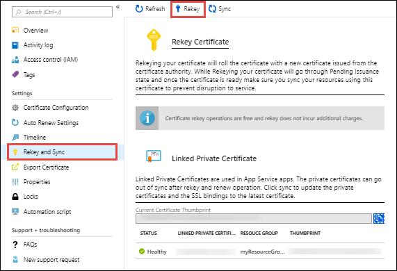 Recomendaciones al usar SSL Azure