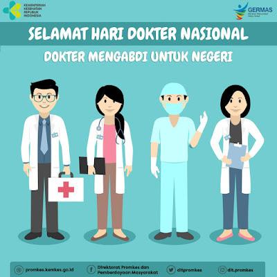 Kata Kata Ucapan Selamat Hari Dokter Nasional 2018