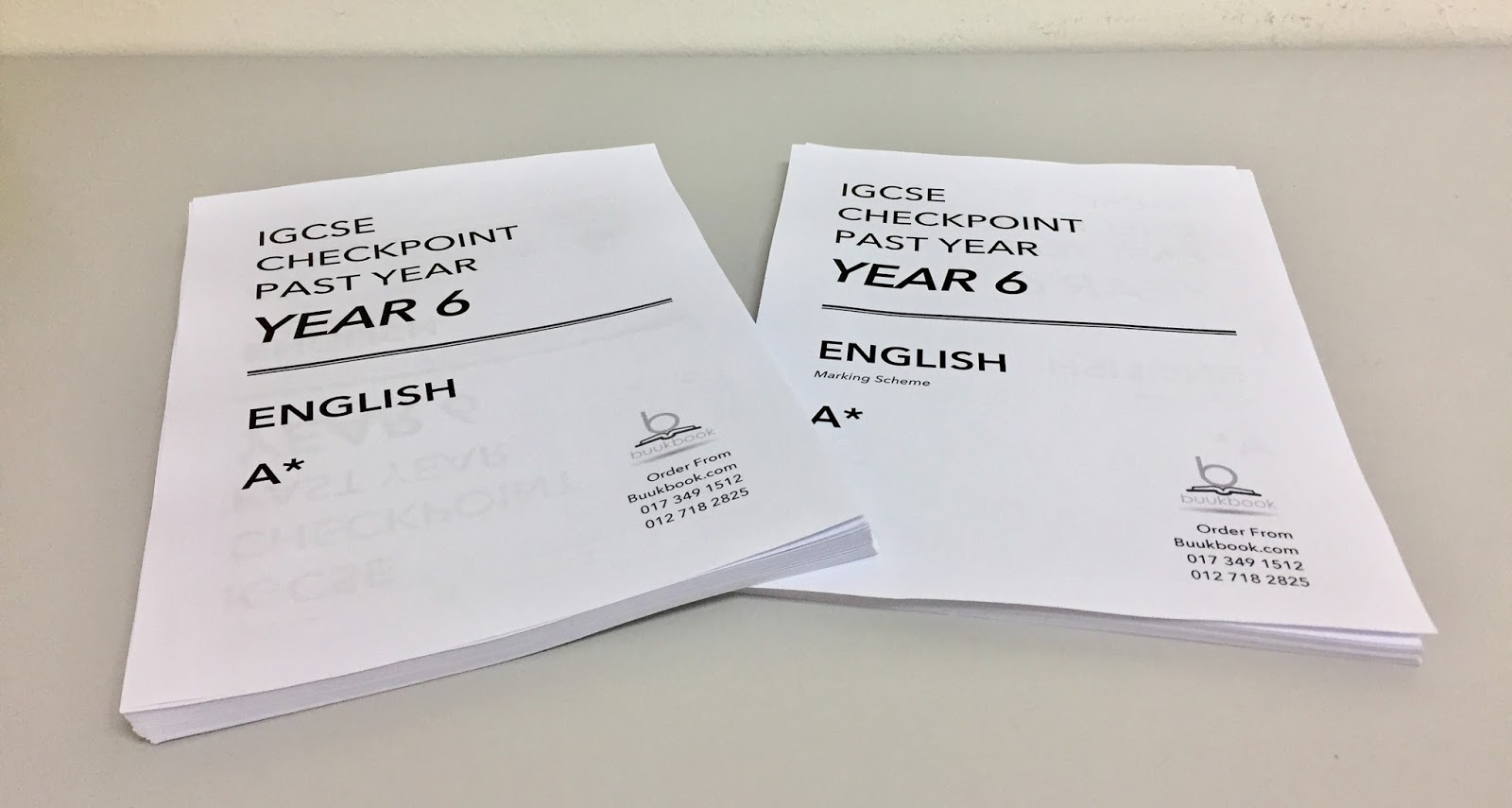 Year 6 Checkpoint English now updated with more sets available!