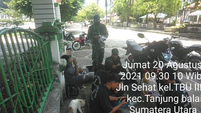 Jalin Silaturahmi, Personel Jajaran Kodim 0208/Asahan Sasarkan Komsos Kepada Warga Masyarakat Desa Binaan