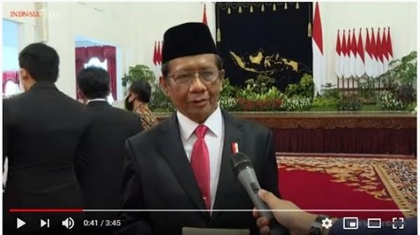 Cuitan Lawas Mahfud MD Viral Lagi, Sebut RI Cepat Antisipasi Covid-19