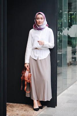 hijab syar'i anak kampus cara hijab anak kampus  fashion hijab ala kampus