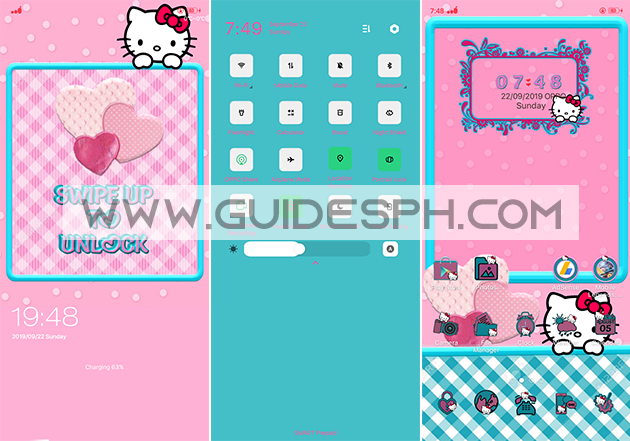 Oppo Theme: Pinky Kitty Theme