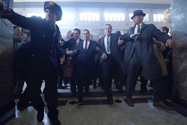 أباطرة أفلام الجريمة يعودون في فيلم The Irishman لمخرجه مارتن سكورسيزي
