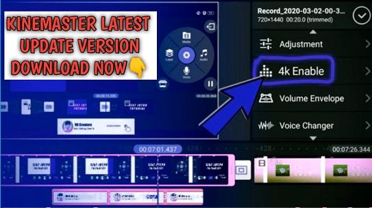 Kinemaster Pro Latest Update MOD Version Download