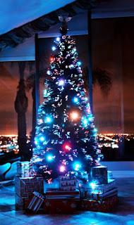 Feiertage Durch LEDs beleuchtet