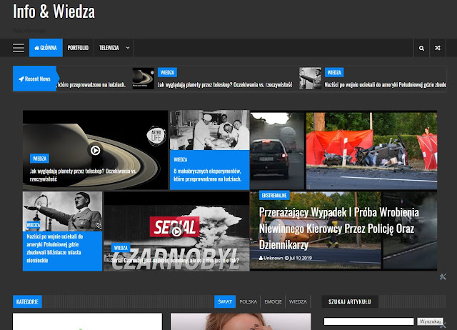 Oficjalny start portalu informacyjnego grupy www.paczaj.tk