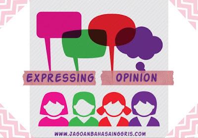 Materi dan Soal Bahasa Inggris Expressing Opinion Kelas  Materi dan Soal Bahasa Inggris Expressing Opinion Kelas 8 SMP