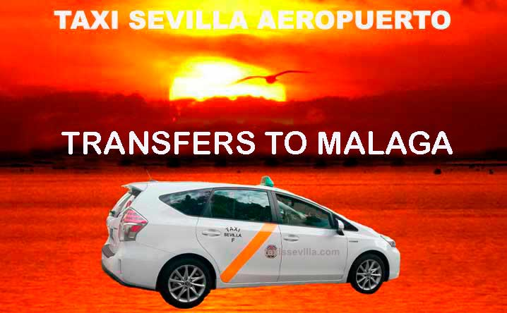How much does a taxi from Seville to Malaga cost?