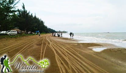 Objek Wisata Pantai Ambalat Samboja Balikpapan