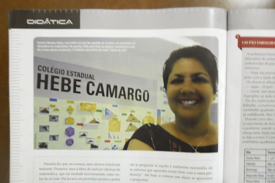 LSM na Revista Cálculo - Fev/15