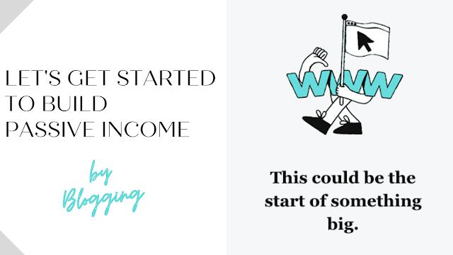 game of passive income, make money by blogging