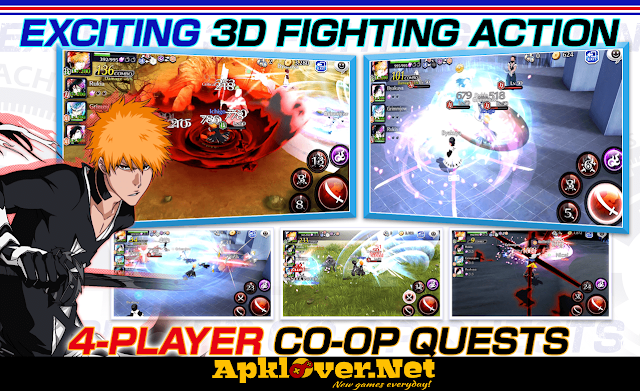BLEACH Brave Souls MOD APK High Damage