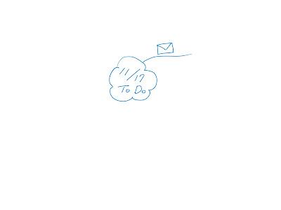 ミニマインドマップ 「11/17 ToDo」 (作: 塚原 美樹) ~ ブランチの上に言葉かイメージをかく