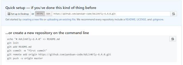 Perintah Git Remote Origin