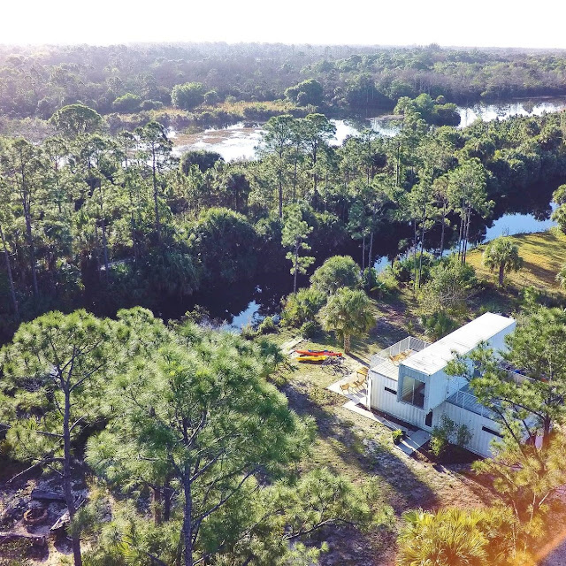 Headwaters Eco Retreat Shipping Container House, Florida 18