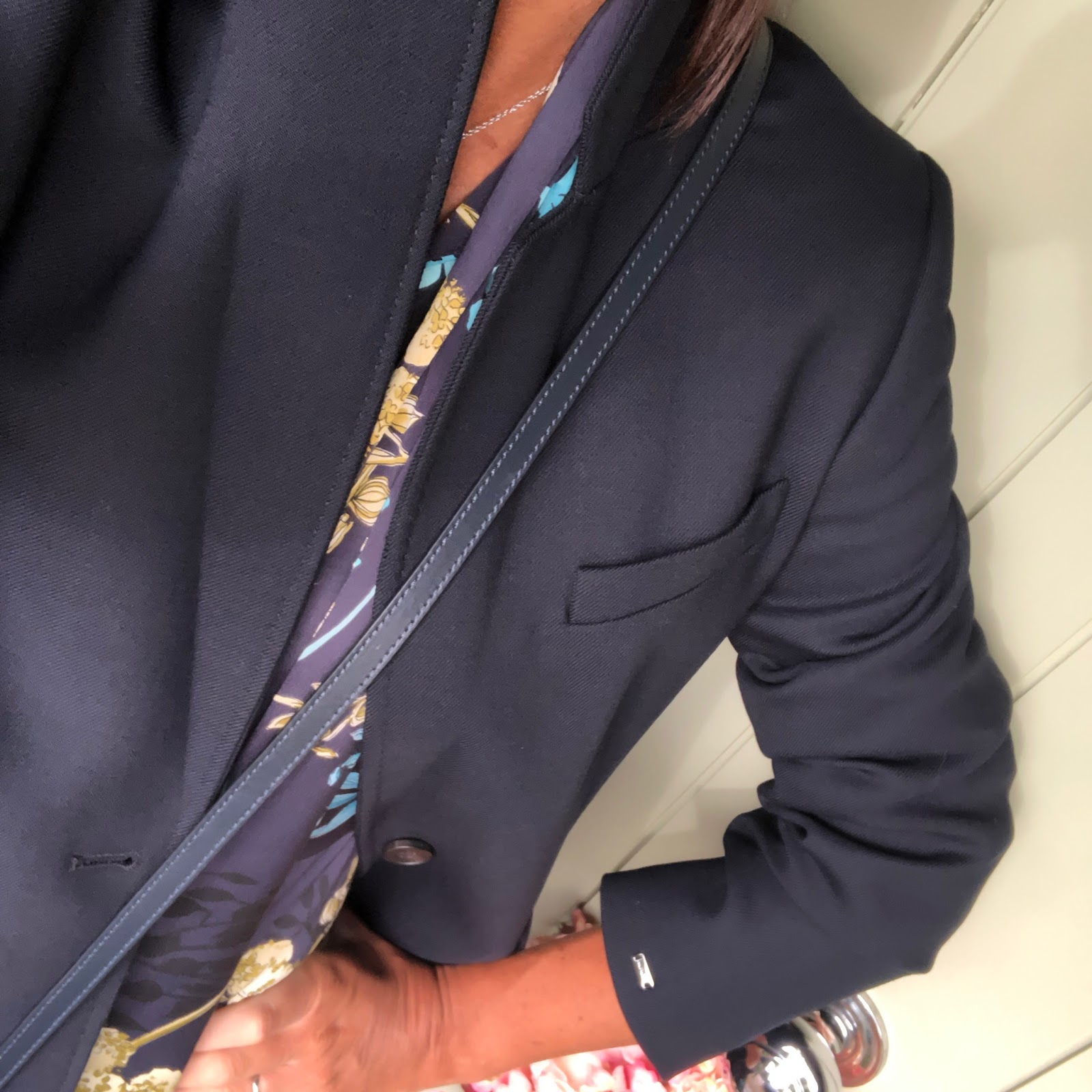 my midlife fashion, house of fraser, tommy hilfiger celeste coat, golden goose superstar low top leather trainers, iris and ink leather shoulder bag, marks and spencer long sleeve maxi dress
