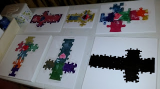 completed puzzle crosses