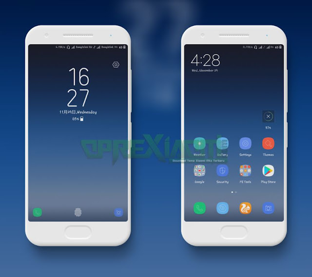 New Samsung Theme Galaxy s8 Mtz Plus Rosemary & Bensen Fonts Full Update
