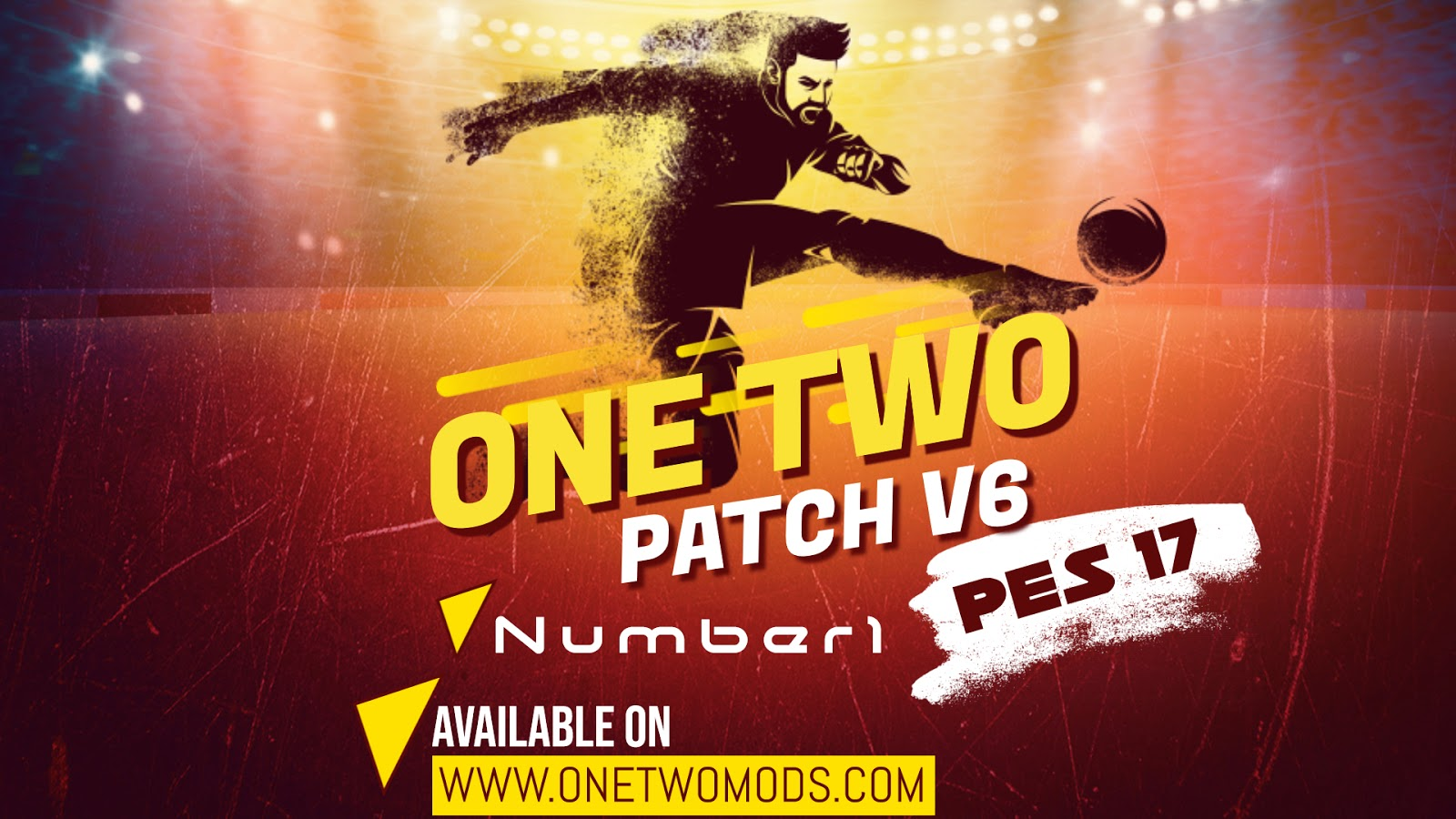 وان توو الاصدار السادس PES 2017 ONE TWO v6