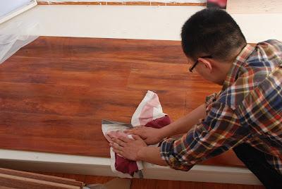 Κατασκευή βερνικιού για ξύλινα πατώματα