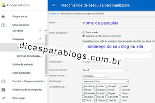 Colocar Mecanismo de Busca no Site ou Blog