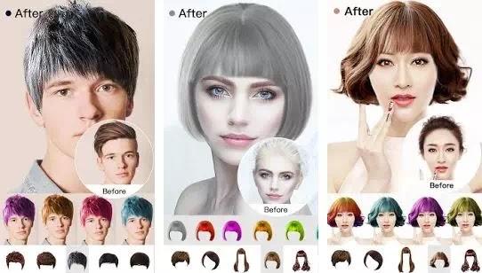 Aplikasi Gaya Rambut Terbaik untuk Pria dan Wanita-1