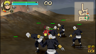 Naruto Shippuden The Hokage ISO PPSSPP Highly Compressed 75mb