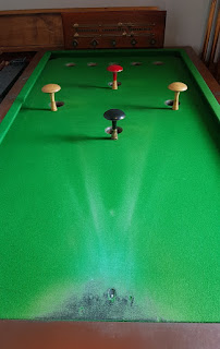 Bar Billiards at The Railway pub in Stockport