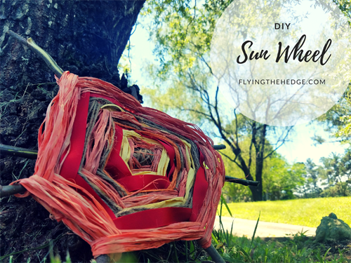 DIY Summer Solstice Sun Wheel