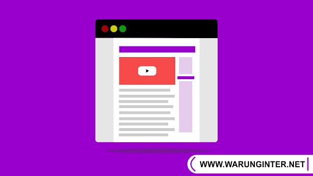 Cara Embed Video Youtube Responsive di Blog