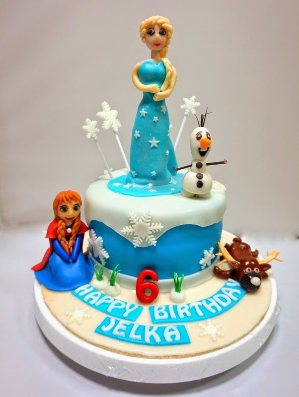 Frozen Movie Cake - Sherbakes