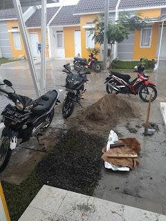 Pekerjaan renovasi rumah Forest Hill Parung Panjang Bogor Barat