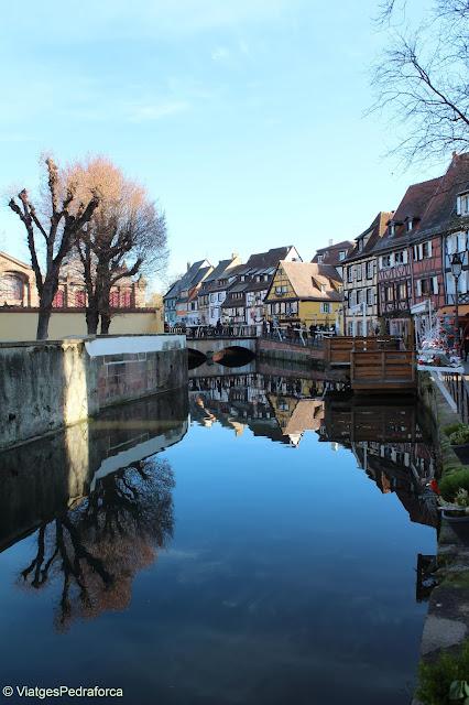 Petite Venice, Colmar, Alsàcia per Nadal, Navidad