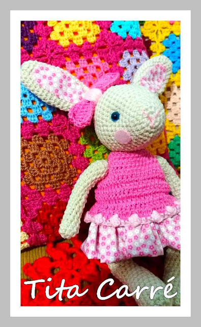 Coelhinha Bibi em crochet