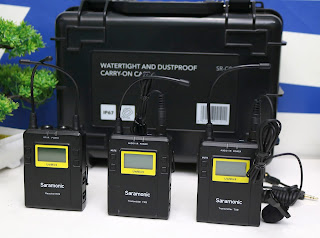 Mic Saramonic UWMIC9 (RX9+TX9+TX9) UHF Wireless Lavalier
