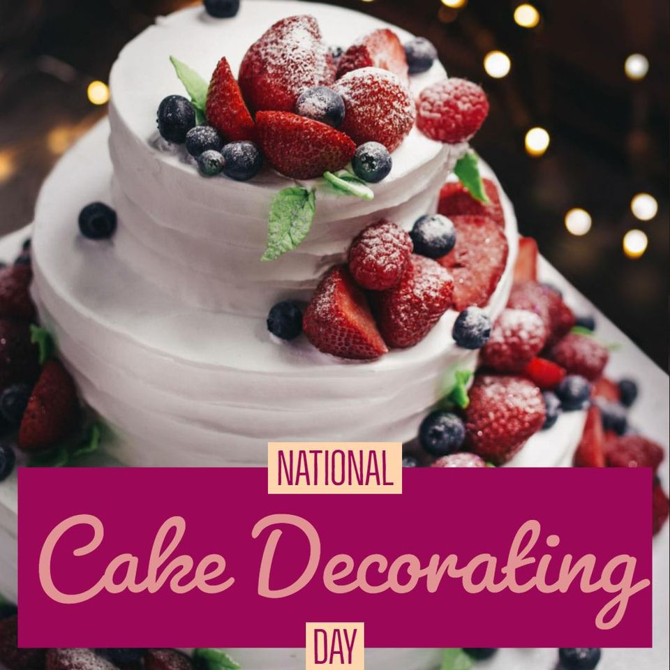 National Cake Decorating Day Wishes Photos
