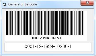 Generator Barcode Memakai Vb6