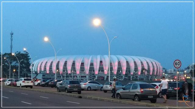 Estádio Beira Rio, Porto Alegre, RS