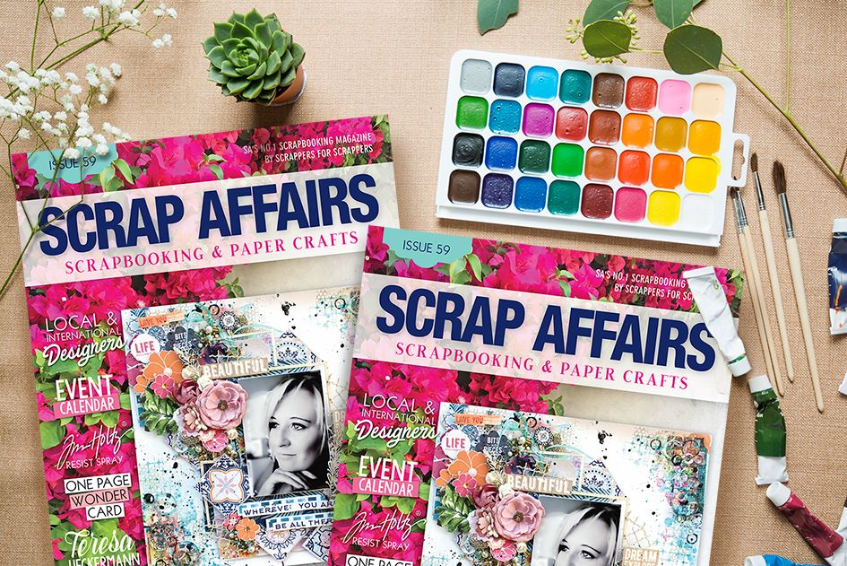 I have been published in Scrap Affairs