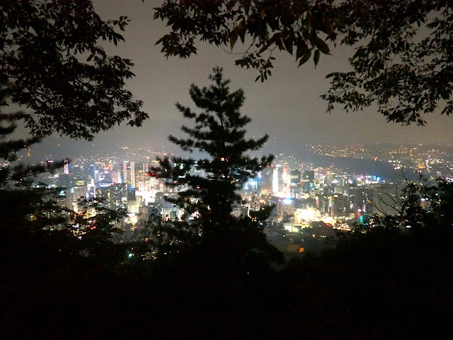 View from Mt Namsan of Seoul, South Korea