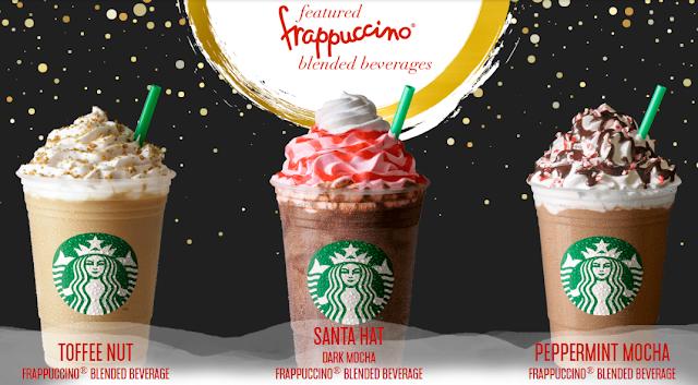 Starbucks Philippines - Featured Holiday Beverages 2016 Santa Hat Dark Mocha