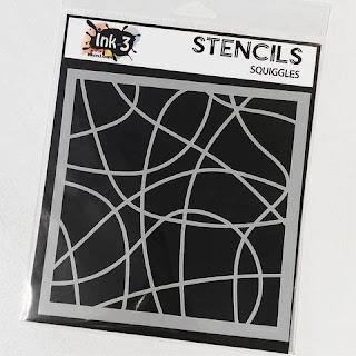 Squiggles Stencil
