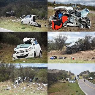 Fueguina muerta en accidente en La Pampa