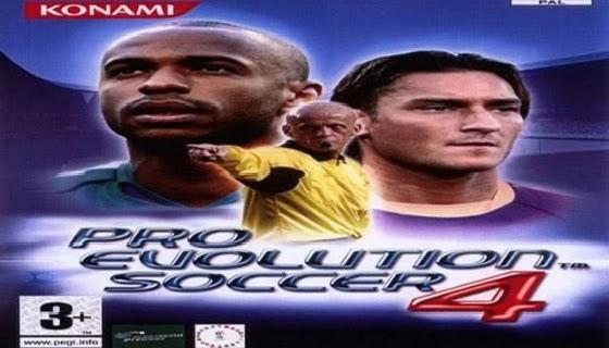 تحميل pro evolution soccer 2004 كاملة للكمبيوتر | PES 4 Download full version PC