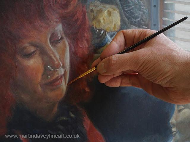 artwork of Leo Deville ceramicist at work WIP davey