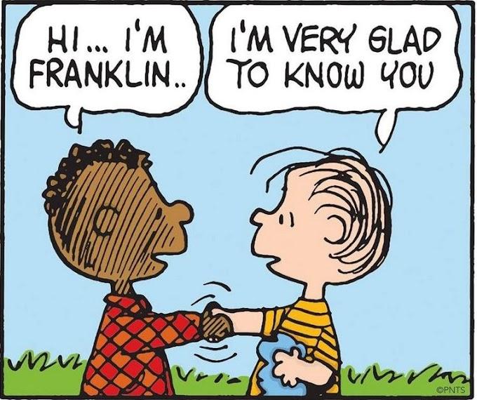Tirinha do Snoopy foi uma das primeiras a ter representação racial