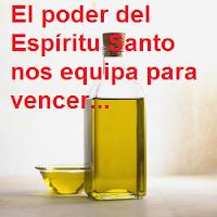 Devocional corto: importancia de la unción del Espíritu Santo. Devocionales cristianos